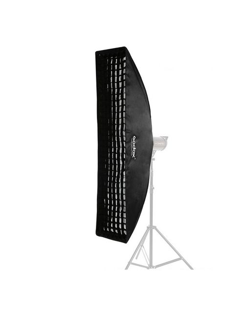 Godox Softbox Bowens Mount + grid 40x180cm