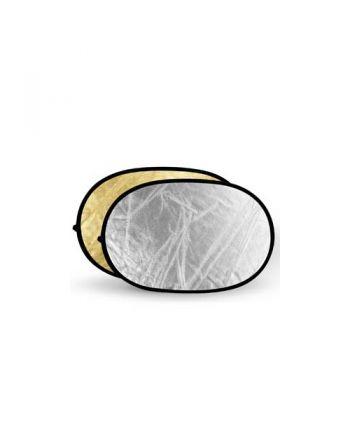 Godox Gold & Silver Reflector Disc 120x180cm