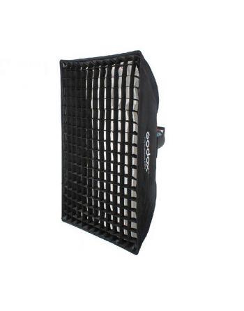 Godox Paraplu Softbox Bowens 50x70 met Grid