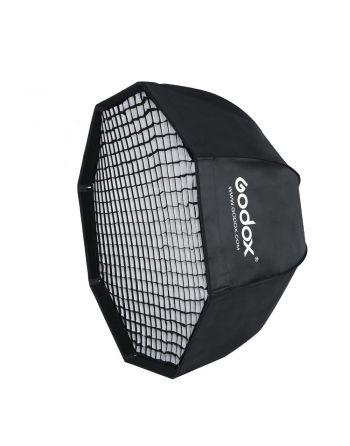 Godox Paraplu Softbox Bowens 120cm met Grid