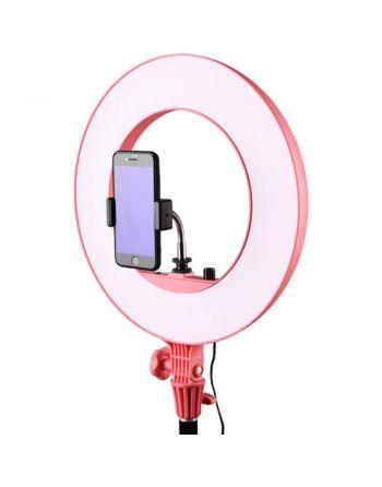 Godox LR160 LED Ring Light Pink