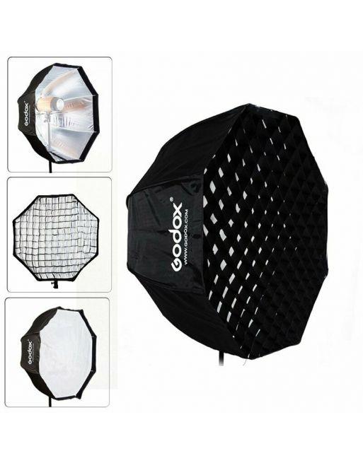 Godox Softbox met paraplu aansluiting 95cm + grid
