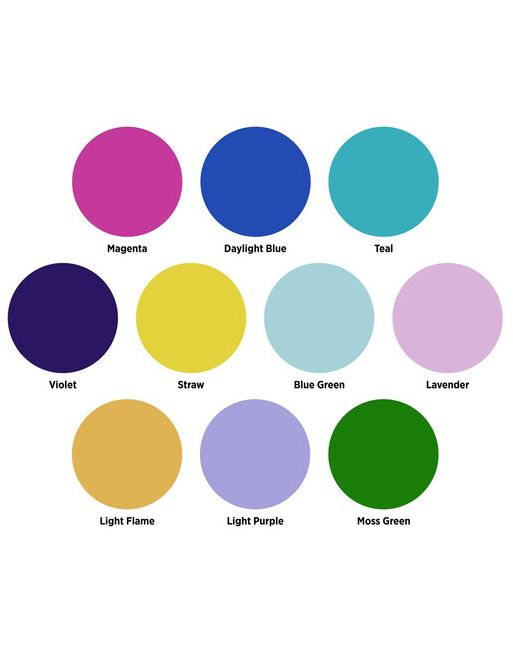 Westcott Optical Spot by Lindsay Adler Gel Pack 1: Creative Color (10 pack)