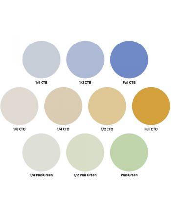 Westcott Optical Spot by Lindsay Adler Gel Pack 2: Color Correction (10 pack)