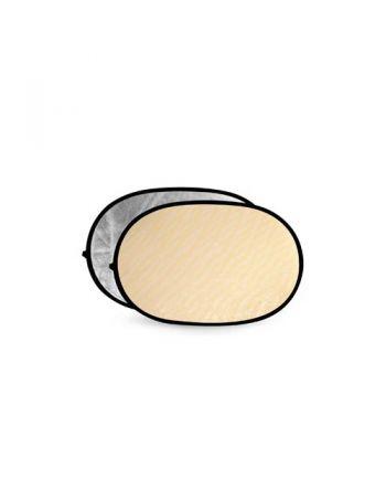Godox Soft Gold & Silver Reflector Disc 120X180cm