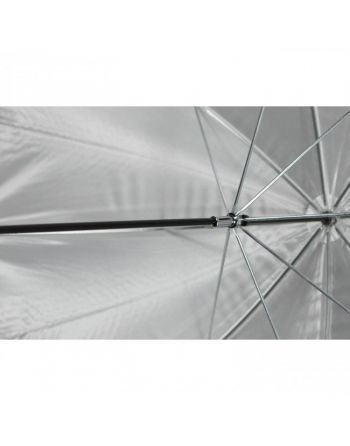 """Westcott 45""""/114cm Optical White Satin with Removable Black Cover"""