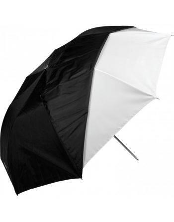 """Westcott 43""""/109cm Optical White Satin Collapsible with Removable Black Cover"""