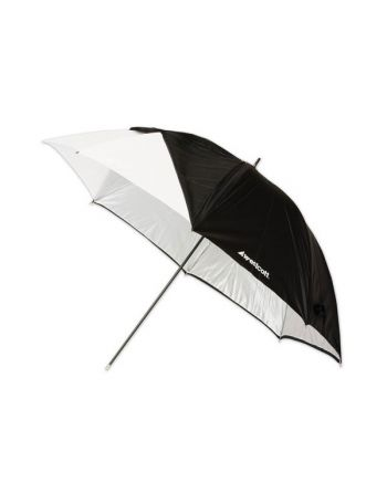 """Westcott 32""""/81cm Optical White Satin with Removable Black Cover"""