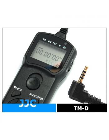 JJC Wired Timer Remote Controller TM D (Panasonic DMW RS1)