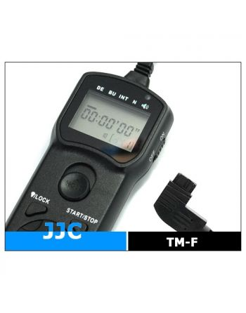 JJC Wired Timer Remote Controller TM F (Sony RM S1AM)