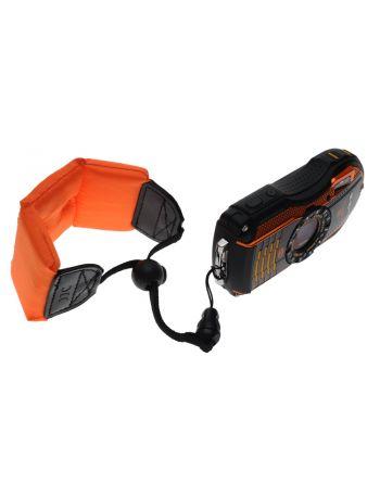JJC Floating Foam Wrist Strap Oranje