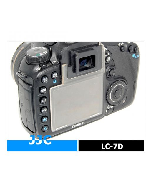 JJC LC 7D LCD Cover voor Canon EOS 7D