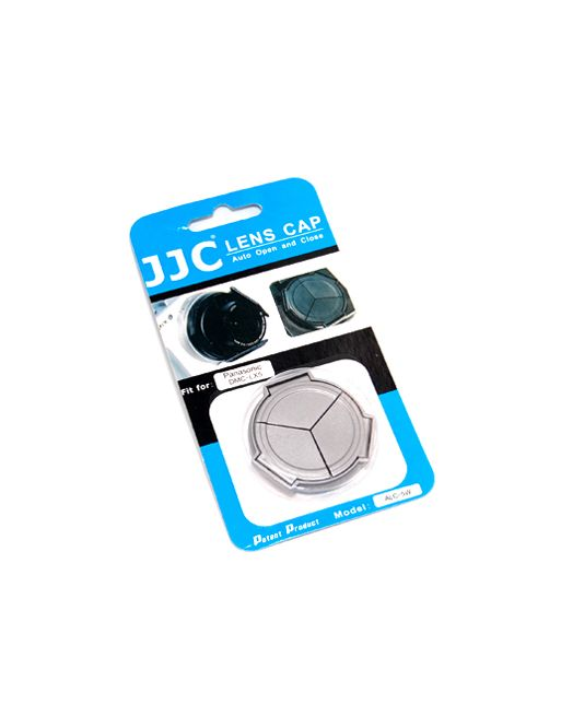 JJC ALC 5W Automatic Lens Cap voor Panasonic DMC LX5 Wit
