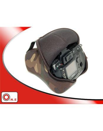 JJC OC 6B Neopreen Camera Tas Camo