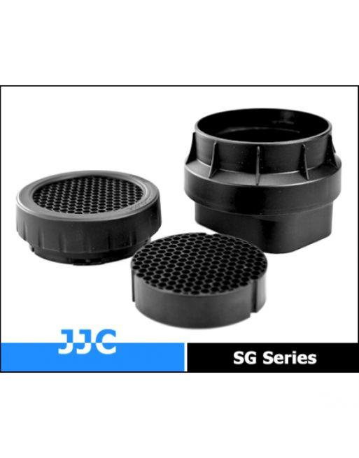 JJC 3 in 1 Honeycomb Grid voor Canon 580 EX /580 EX II