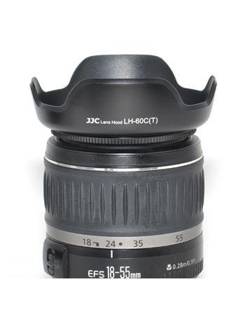 JJC EW 60C (Tulp) Canon Zonnekap