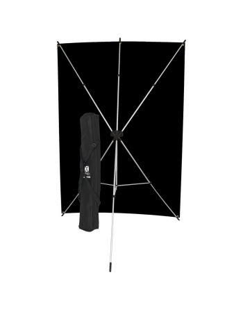 Westcott Black X Drop Backdrop Kit