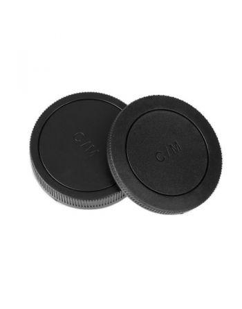 Caruba Achterlens en Bodydop voor Canon EOS M