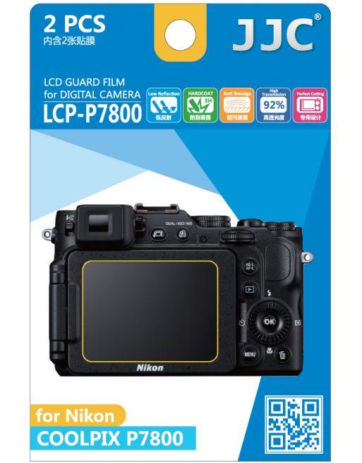 JJC LCP P7800 LCD bescherming