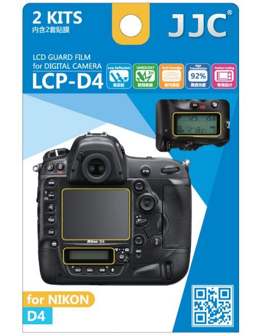 JJC LCP D4 LCD bescherming