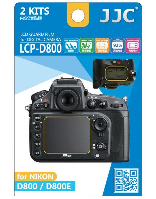 JJC LCP D800 LCD bescherming