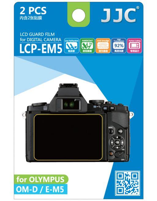 JJC LCP EM5 Screenprotector