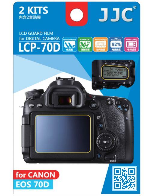 JJC LCP 70D Screenprotector