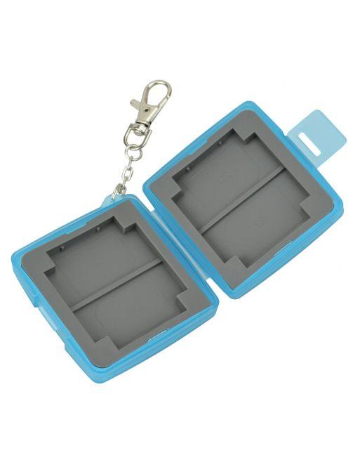 JJC MC 6B Multi Card case Blauw