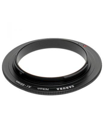 Caruba Reverse Ring Nikon AI 55mm