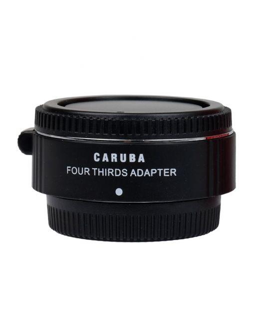 Caruba Mount Adapter Olympus Micro 4/3 4/3 Chroom