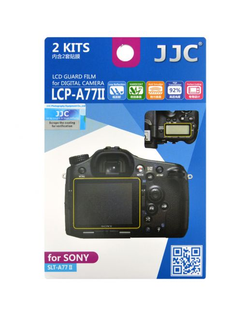 JJC LCP A77II Screenprotector