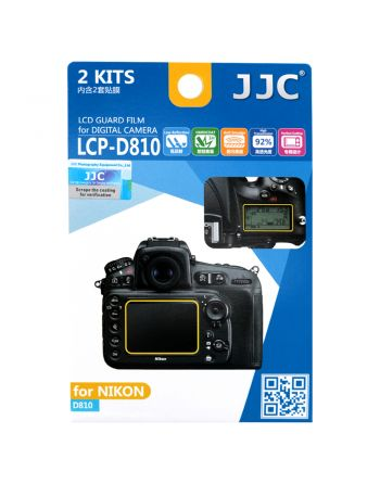 JJC LCP D810 Screenprotector